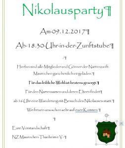 Nikolausparty